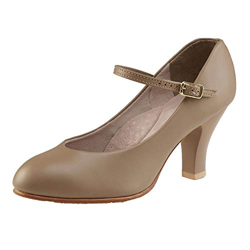 "656 Capezio 3/"" Theatrical Footlight Character Shoe"